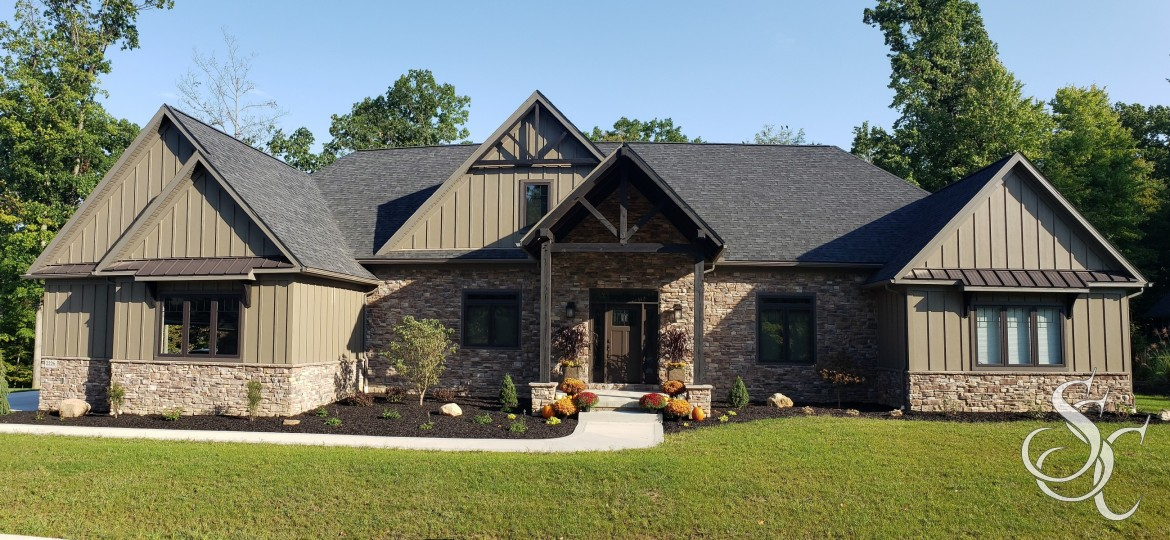 Parade of Homes 2021, New Construction, Modern Craftsman