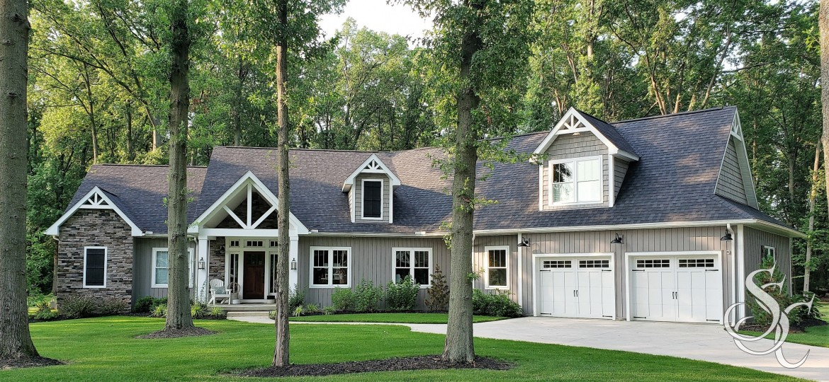 Modern Craftsman Ranch is the perfect resting place for empty nesters.